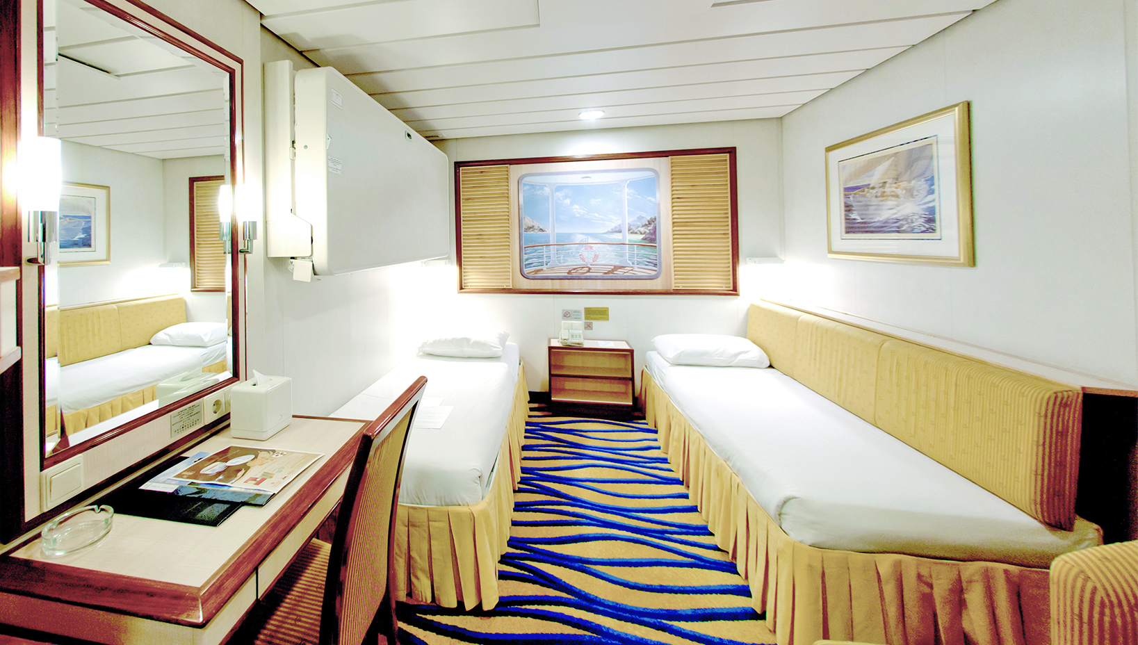Inside Cabins Cruise Ac modation