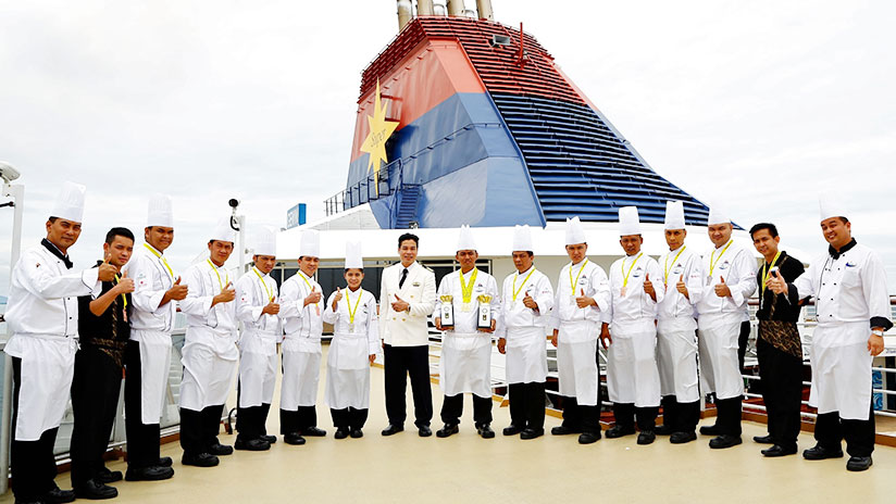 Star Cruises Culinary Team