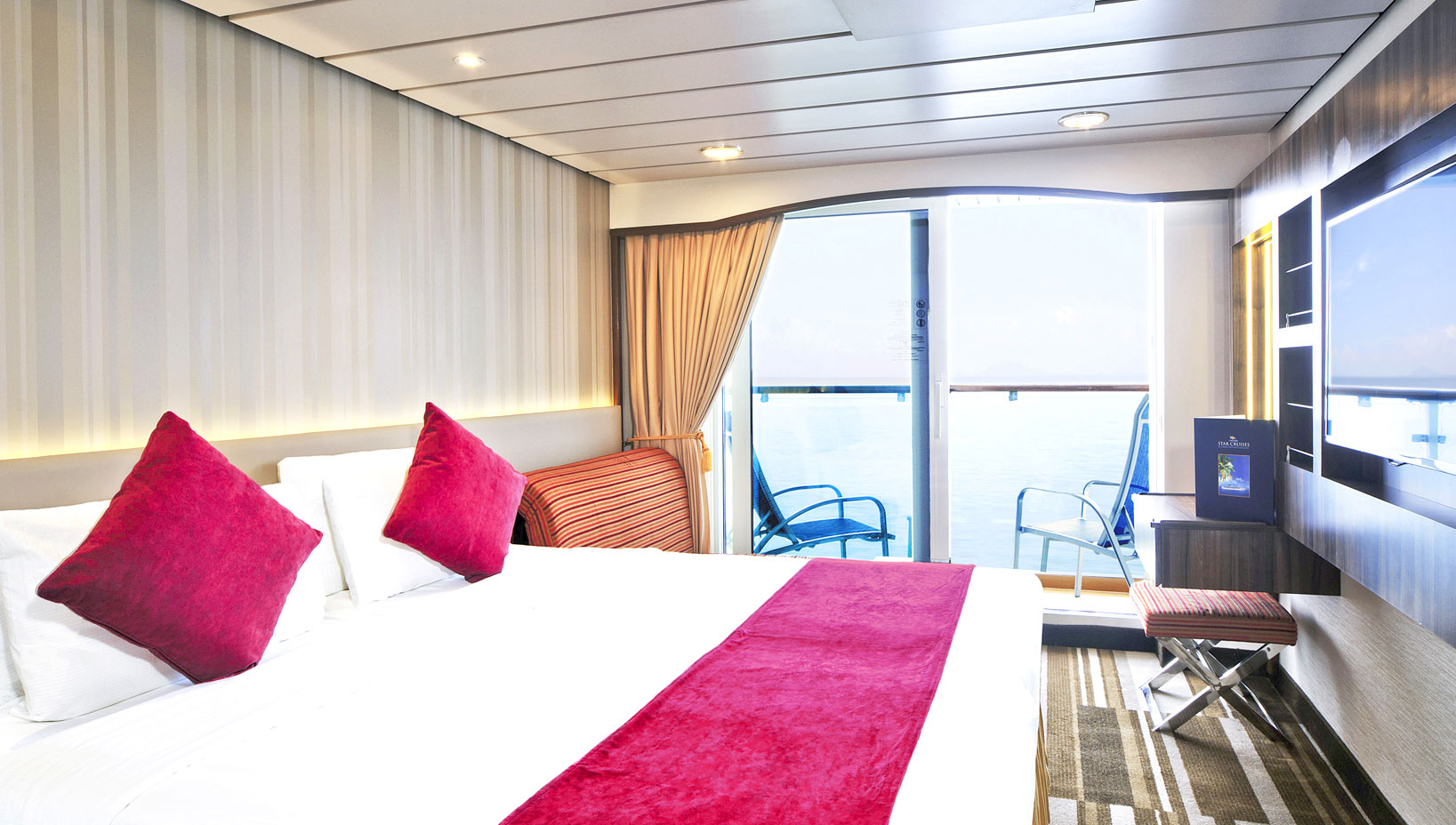 Oceanview Stateroom with Balcony