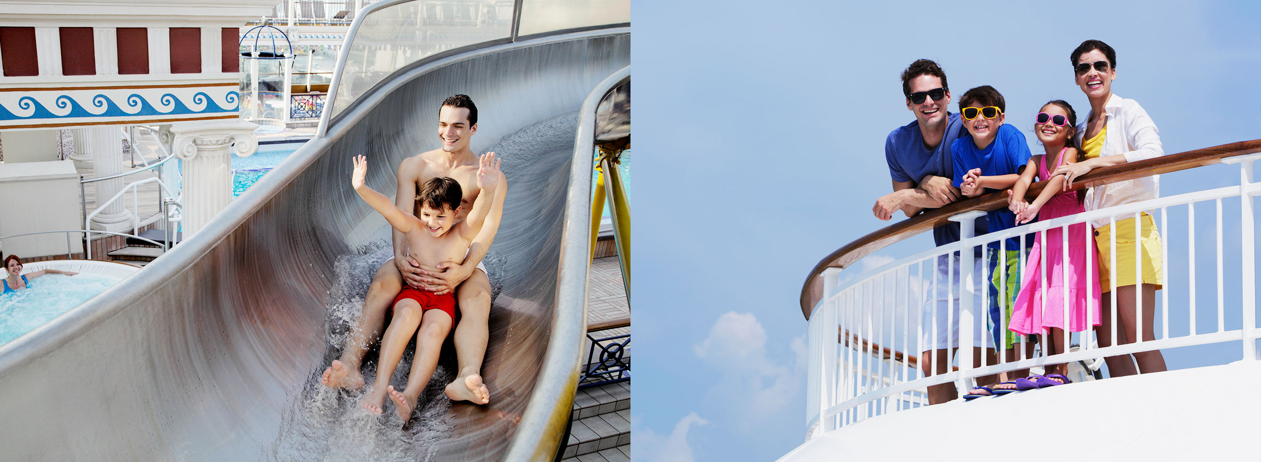 Star Cruises Water slide and Family time